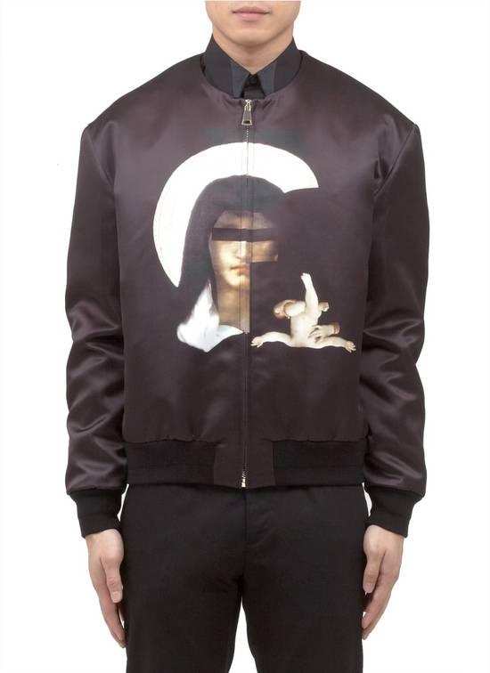 Givenchy $2850 Givenchy Madonna and Baby Jesus Satin Purple Bomber Jacket size 50 Size US M / EU 48-50 / 2 - 1