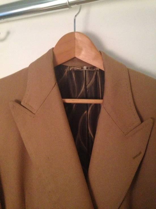 Balmain Camel Overcoat Size US L / EU 52-54 / 3