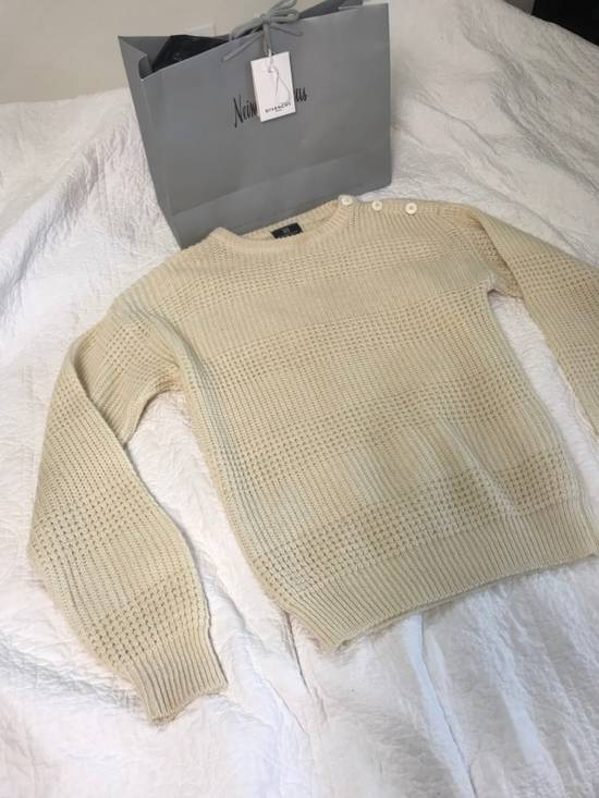 Givenchy Givenchy Off White Beige Sweater Size US L / EU 52-54 / 3 - 1