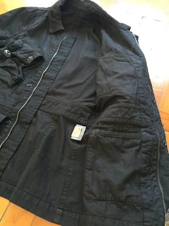 Julius AW08 Gas mask cargo pocket denim jacket Size US S / EU 44-46 / 1 - 10