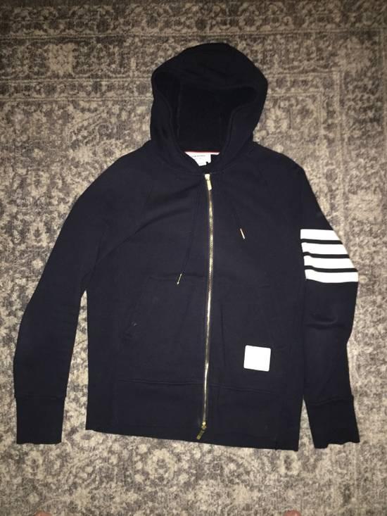 Thom Browne Thom Browne 4 stripe navy blue sweatshirt Size US XXL / EU 58 / 5