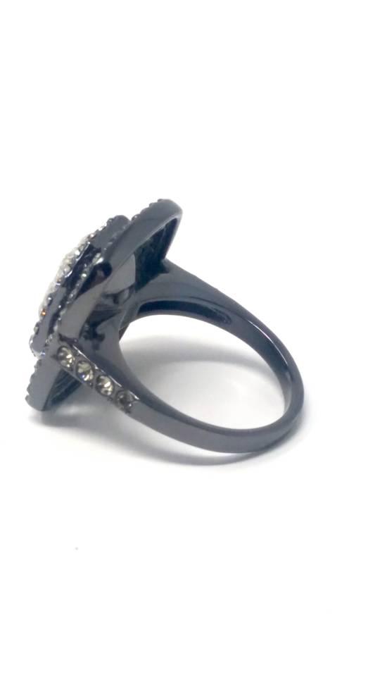 Givenchy Gunmetal ring size 8 Size ONE SIZE - 6