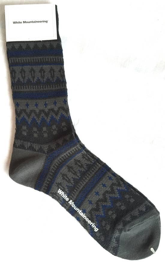White Mountaineering Fair Isle 100% Wool Socks, NWT Size one size ...