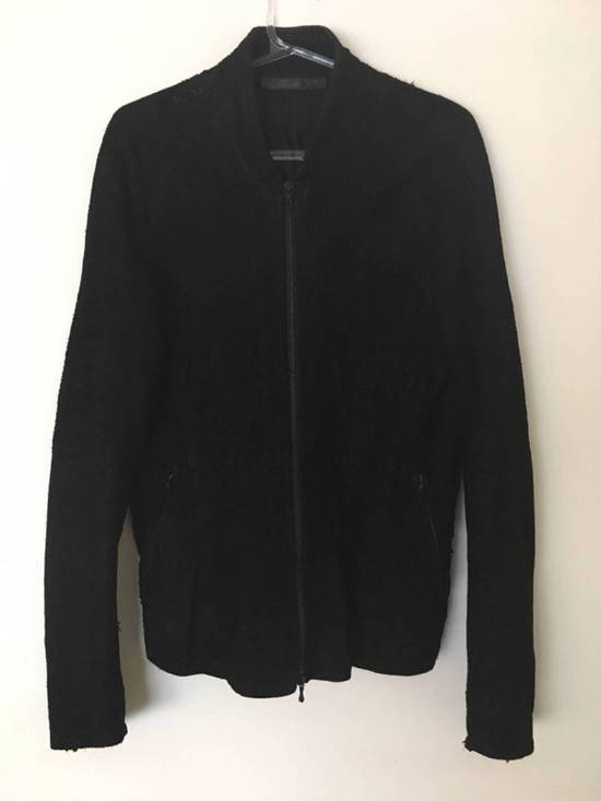 Julius $2200 Lamb Leather Blistered And Reversed Moto Jacket Made In Japan In Mint Condition Size US M / EU 48-50 / 2 - 17