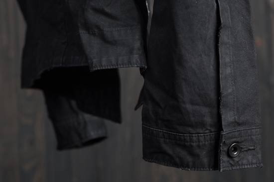 Julius high neck asymmetric zip waxed denim jacket Size US S / EU 44-46 / 1 - 5
