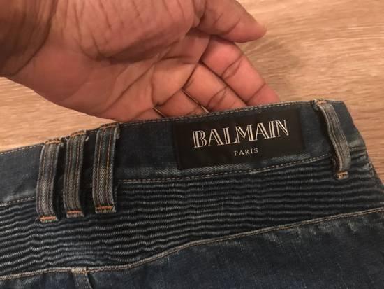 Balmain Moto Jean Size US 29 - 2