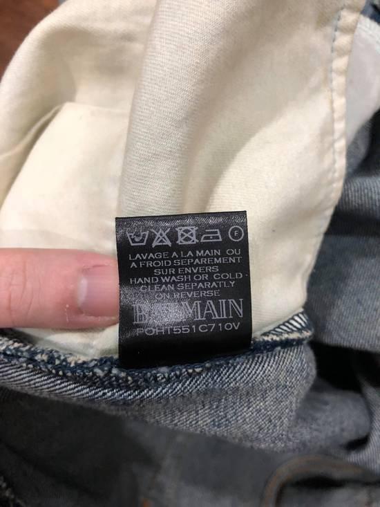 Balmain Balmain Destroyed Slim Fit Biker Jeans Size US 32 / EU 48 - 5