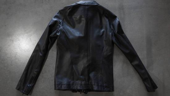 Julius Super rare JULIUS MID-WINTER 2011-2012 HALO MOTO leather jacket Size US L / EU 52-54 / 3 - 4