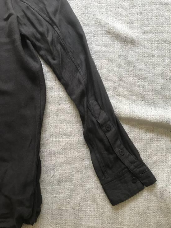Julius AW16 charcoal with angle edge at bottom shirt Size US S / EU 44-46 / 1 - 6