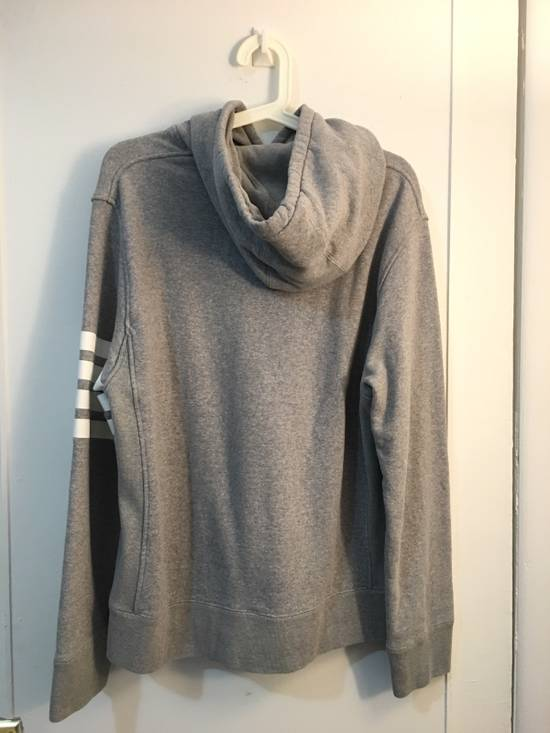 Thom Browne [RARE] Gray Thom Brown 4 Striped Pullover Hoodie Size 2 Size US M / EU 48-50 / 2 - 2