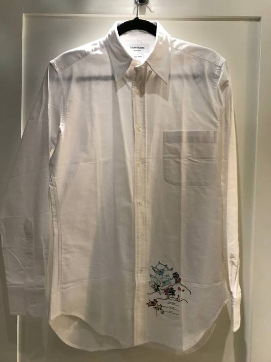Thom Browne Spring Sale!!! Thom Browne Men's Embroidered Shirt Size 2 Size US M / EU 48-50 / 2