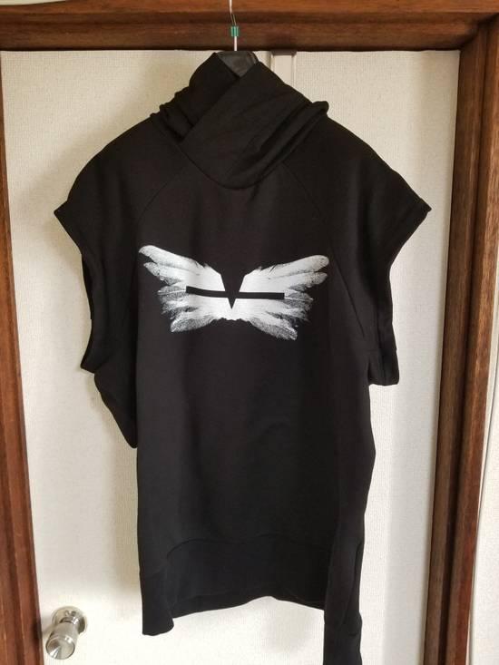 Julius Wings print sleeveless hoodie Size US L / EU 52-54 / 3 - 5