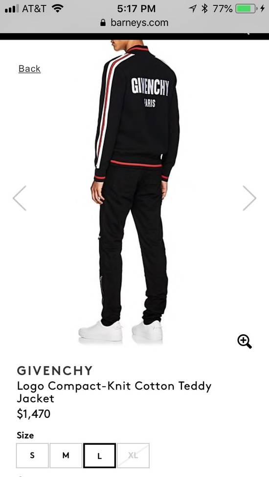 Givenchy Logo Compact-Knit Cotton Teddy Jacket Size US XL / EU 56 / 4 - 3