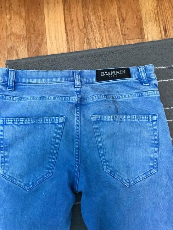 Balmain Balmain Blue Denim Size US 30 / EU 46 - 2