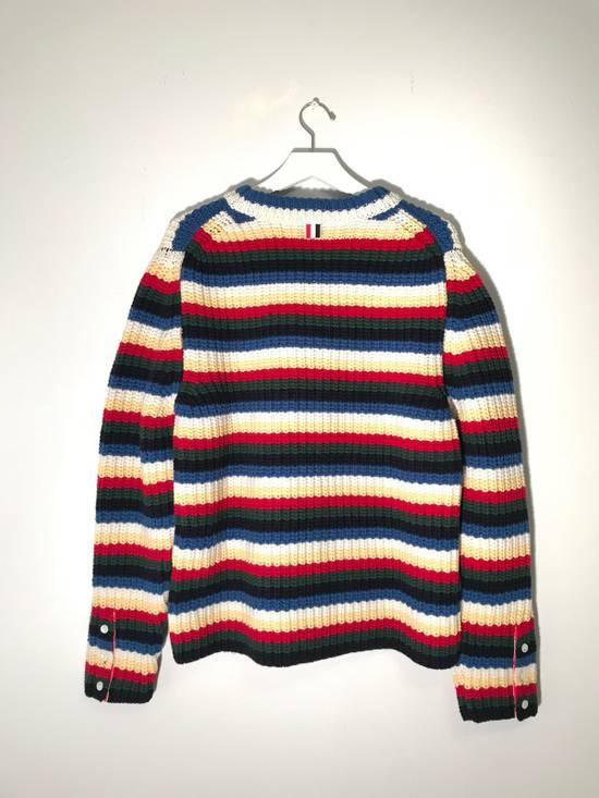 Thom Browne Striped Wool Sweater Size US M / EU 48-50 / 2 - 8