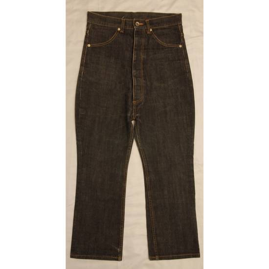 Julius AW03 High Rise Cropped Jeans Size US 28 / EU 44