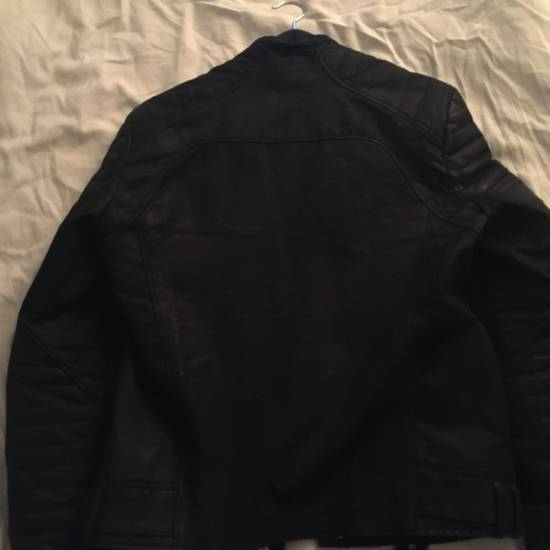 Balmain Balmain waxed biker jacket Size US XL / EU 56 / 4