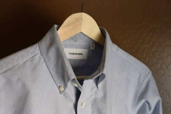 Thom Browne Classic Blue Oxford Shirt Size US L / EU 52-54 / 3 - 2