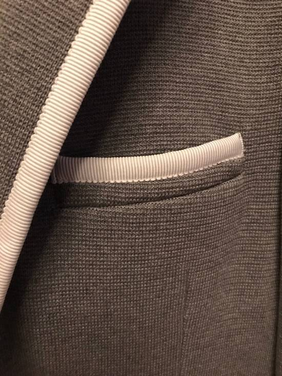 Thom Browne Black Fleece Cotton Blazer Size 34S - 3