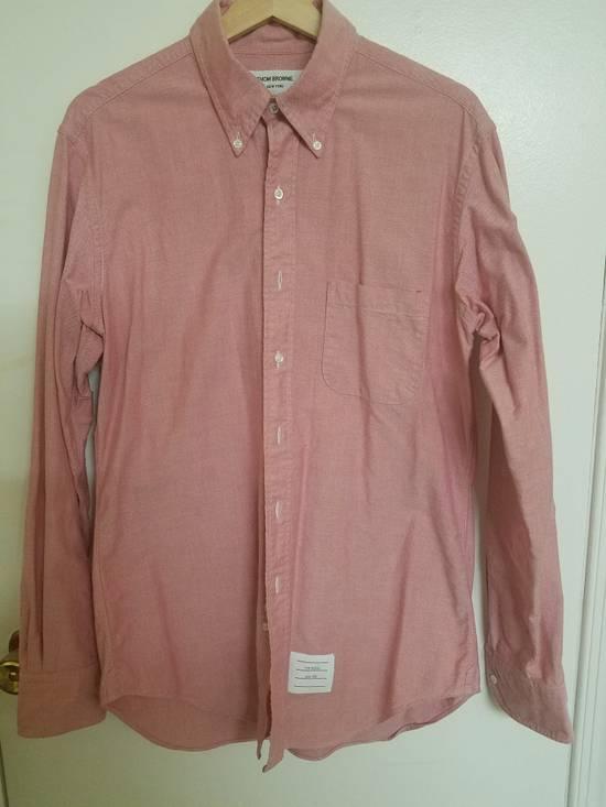 Thom Browne Thom Browne Pink Shirts Size US L / EU 52-54 / 3