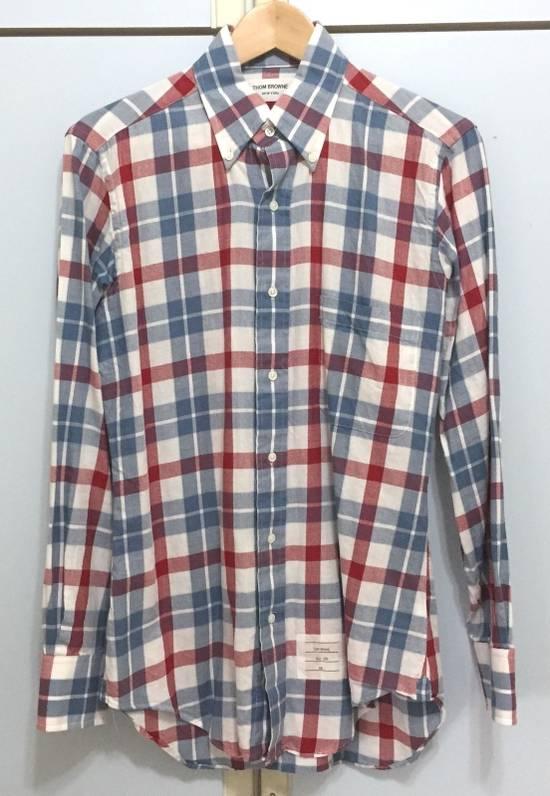 Thom Browne Men's Thom Browne New York Plaids Oxford Shirt Sz 1 Size US S / EU 44-46 / 1