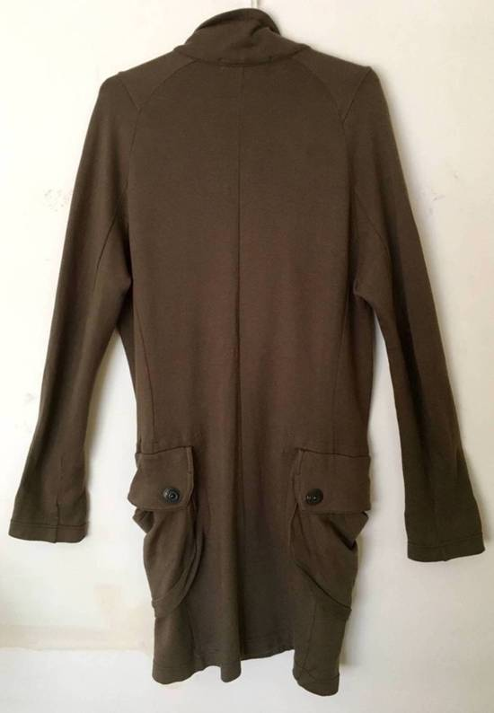 Julius Japan made long jersey oversize Popper fastening Gasmask pocket jacket Size US S / EU 44-46 / 1 - 2