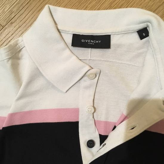 Givenchy GIVENCHY Stripe And Floral Print Polo Shirt Size US S / EU 44-46 / 1 - 1