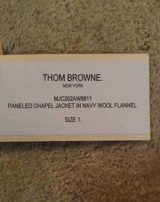 Thom Browne Paneled Chapel Jacket- Flannel Size US S / EU 44-46 / 1 - 2