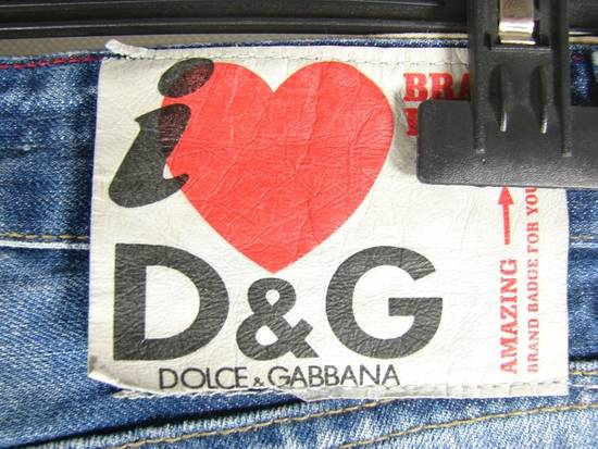Dolce & Gabbana D&G W29 L32 Designer Jeans Trousers Size US 34 / EU 50 - 2