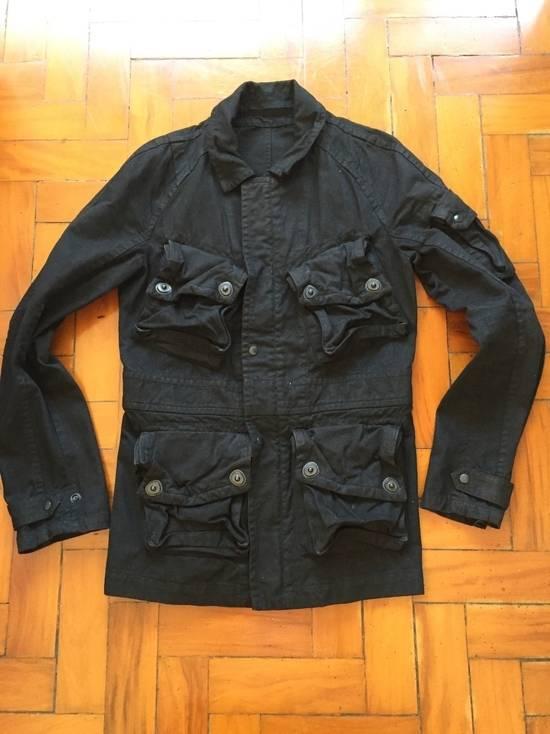 Julius AW08 Gas mask cargo pocket denim jacket Size US S / EU 44-46 / 1 - 1
