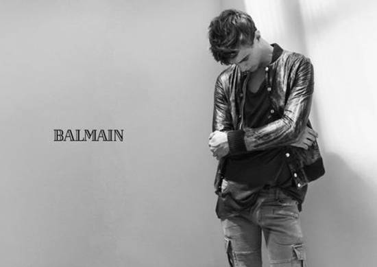 Balmain Decarnin Green Leather Teddy Boy Jacket Size US M / EU 48-50 / 2 - 5