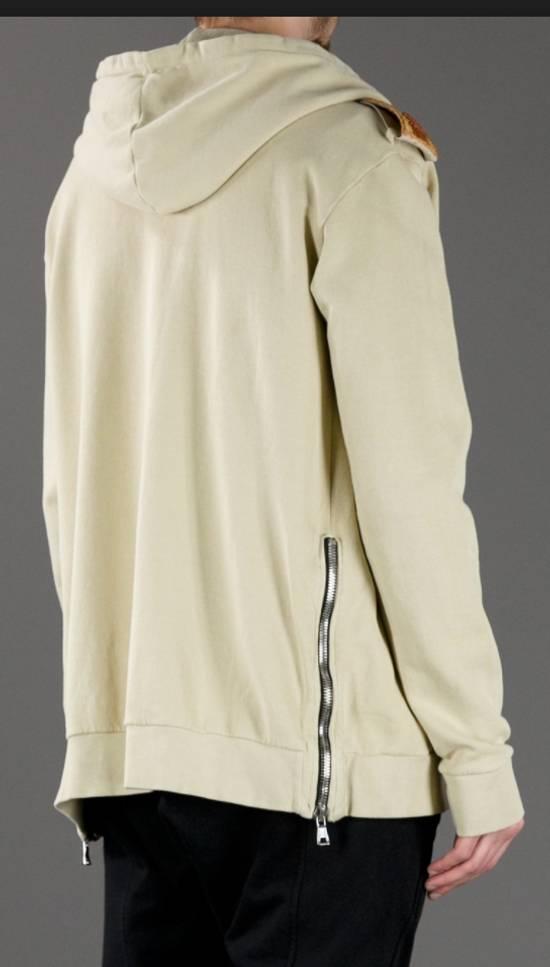 Balmain Balmain Beige Military Zipper Hoodie Size US M / EU 48-50 / 2 - 6