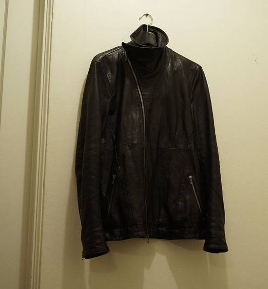 Julius Lamb Leather Jacket - s/s 11 Chaos Ontological Anarchism Size US S / EU 44-46 / 1 - 2