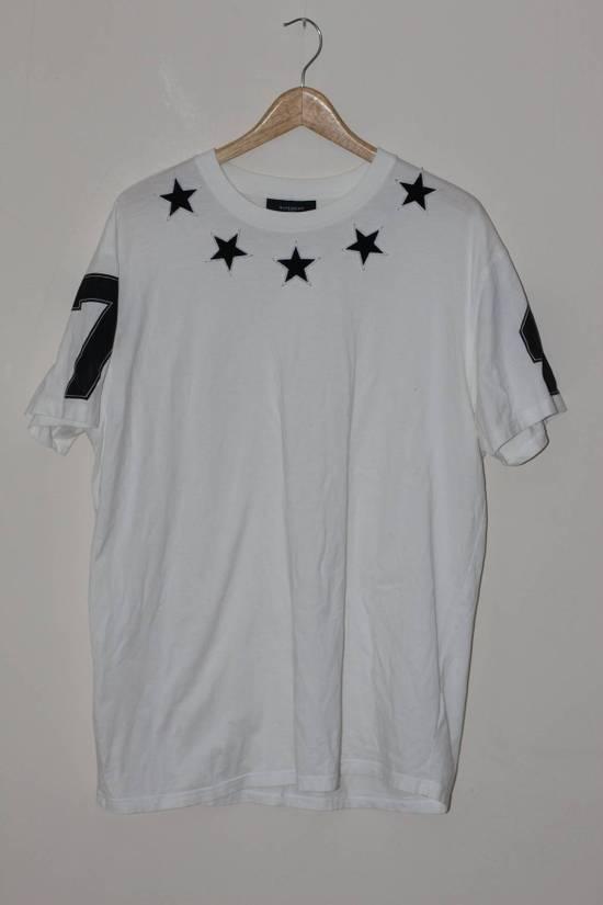 Givenchy Black Star Applique T-shirt Size US M / EU 48-50 / 2