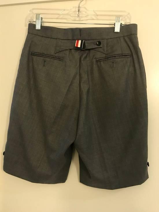 Thom Browne Classic Thom Browne Grey Wool Shorts Size US 29 - 1