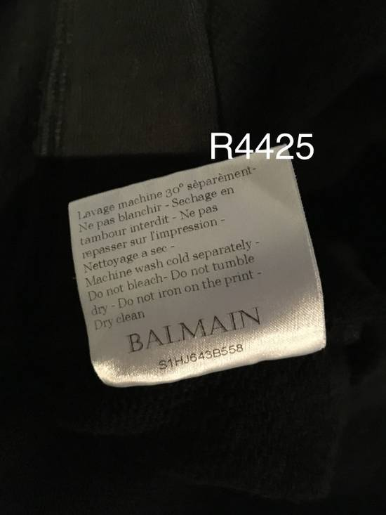 Balmain Balmain Black Crest Hoodie Size US L / EU 52-54 / 3 - 4