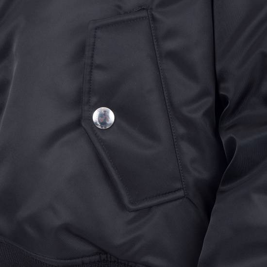Givenchy 2550$ New Black Padded Nylon Illuminati Patch Bomber Jacket Size US L / EU 52-54 / 3 - 7