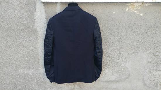 Givenchy $2100 Givenchy Navy Blue Bomber Sleeves Wool Stars Blazer Jacket size 48 (S / M) Size 48S - 7