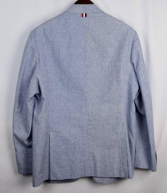 Thom Browne Thom Browne Fun Mix Blazer Men's 4 New Blue Size 42L - 6