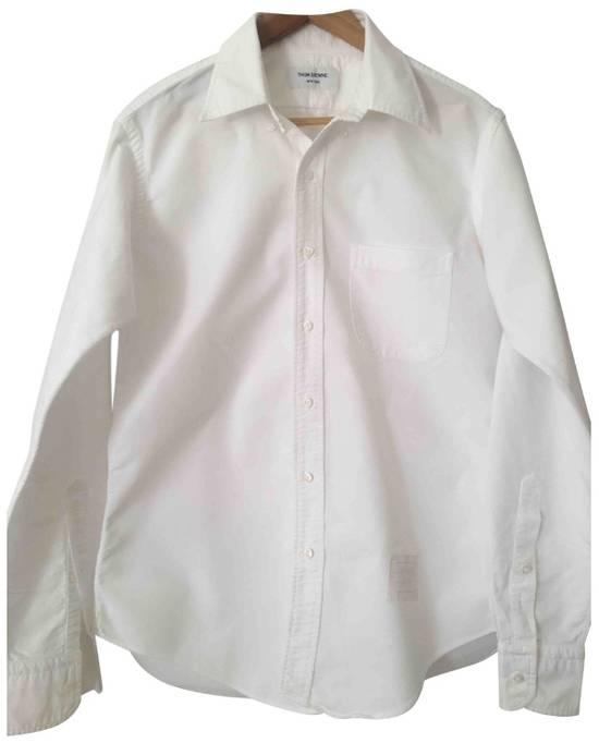 Thom Browne TB White Shirt Size US M / EU 48-50 / 2