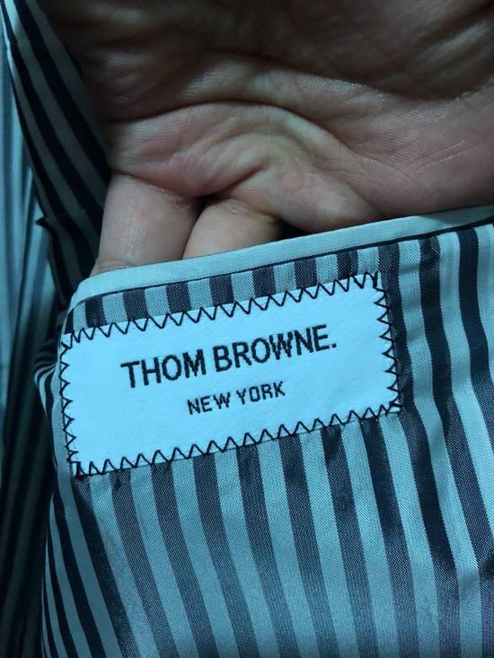 Thom Browne Navy Wool Topcoat (Size 2 - Fits M/L) Size US M / EU 48-50 / 2 - 4