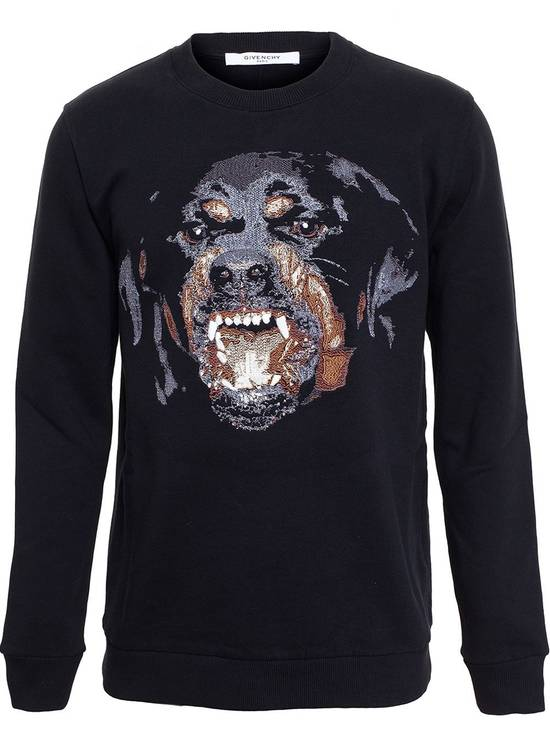 Givenchy Rare iteration Embroided Rotweiller Sweatshirt Size US L / EU 52-54 / 3