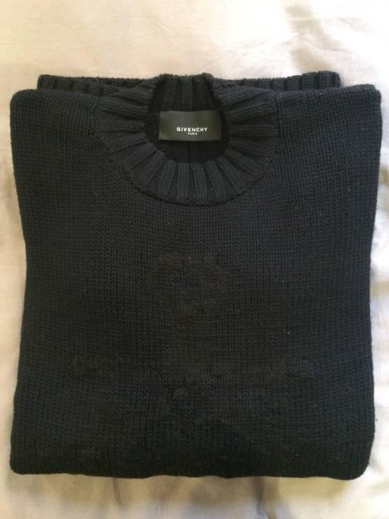 Givenchy FW09 Oversized Black Sweater Anchor Intarsia Size US XS / EU 42 / 0 - 3