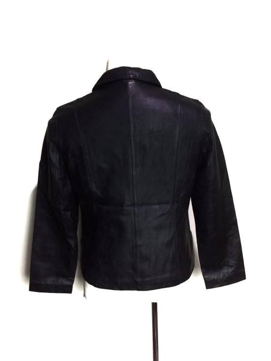 Balmain BALMAIN Paris Black Leather Biker Rockers Rockabilly Cafe Racer Jacket Size US M / EU 48-50 / 2 - 1