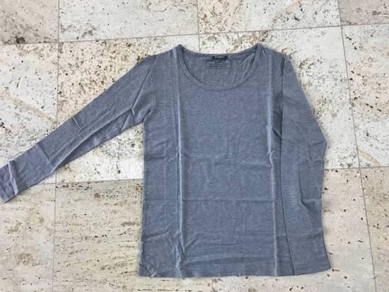 Balmain Grey LS Tee Size US XS / EU 42 / 0 - 4