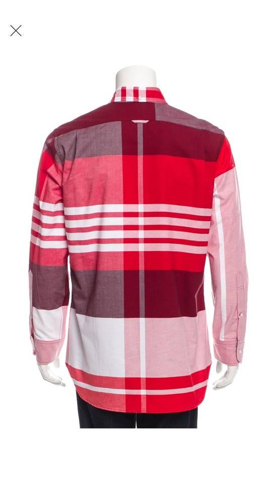 Thom Browne Thom Browne Red Check Button Up XXL Size US XXL / EU 58 / 5 - 2