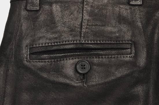 Balmain 1265$ Skinny Coated Stretch Denim Biker Jeans Size US 27 - 8