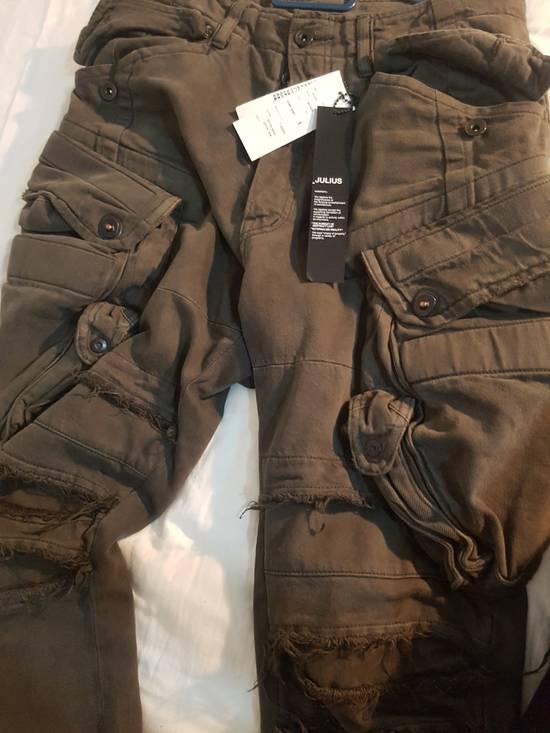 Julius Julius Distressed Gasmask Cargo Pants Size US 30 / EU 46