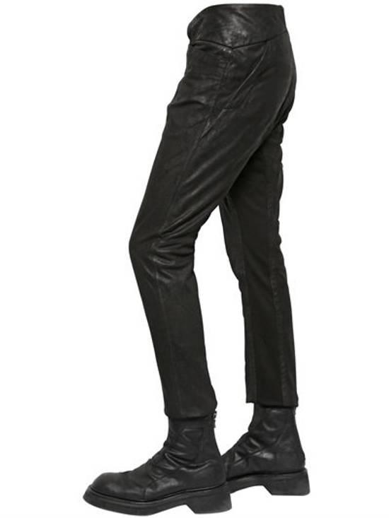 Julius BNWT Leather Paneled Biker Pants Size US 30 / EU 46 - 8