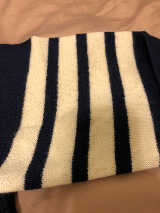 Thom Browne THOM BROWNE Striped Cashmere Zip-Up Hoodie Size US M / EU 48-50 / 2 - 2